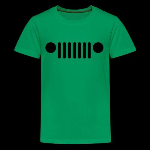 Jeep Grille - Kids' Premium T-Shirt