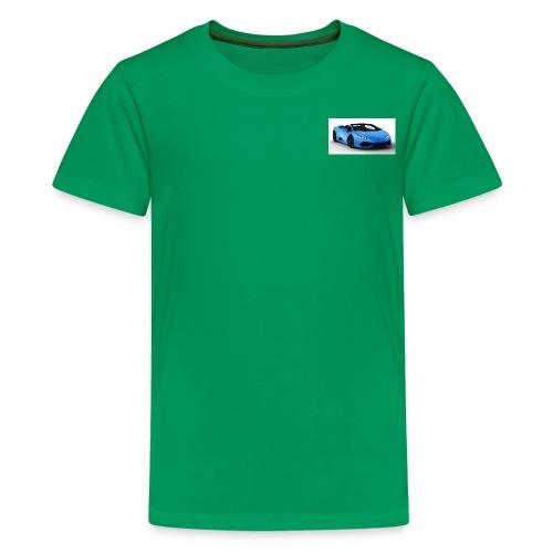lambo huracan roadster rendering ts 4 - Kids' Premium T-Shirt