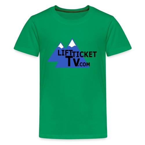LiftTicketTV.com - Kids' Premium T-Shirt