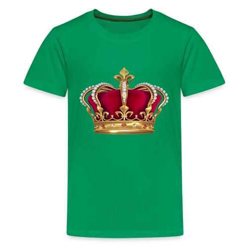RED GOLD CROWN - Kids' Premium T-Shirt