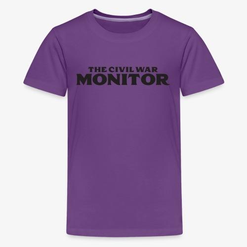 CWM LOGO BLACK - Kids' Premium T-Shirt