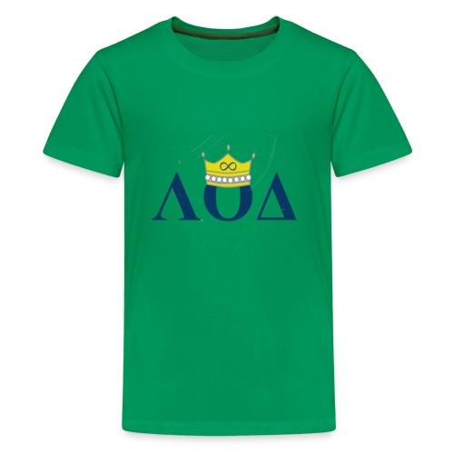 Crown Letters - Kids' Premium T-Shirt