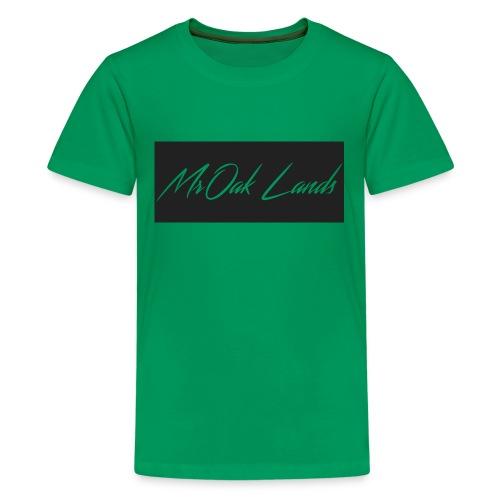 Mr Oak Lands Hoddie - Kids' Premium T-Shirt