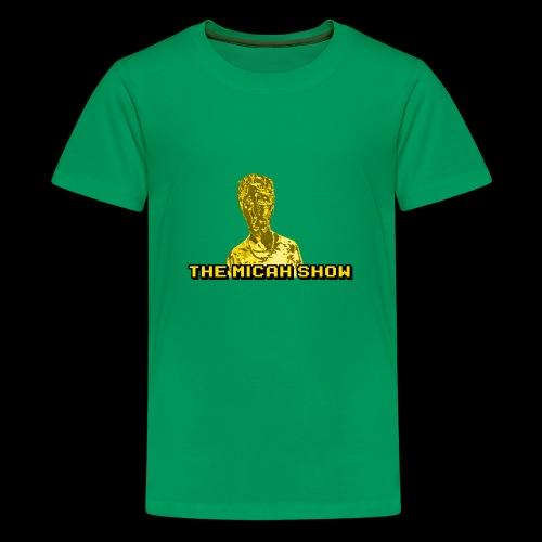 Limited Edition Gold Micah Show Logo - Kids' Premium T-Shirt