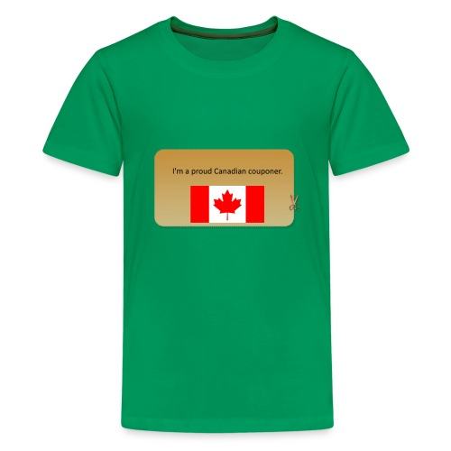 Canadian Couponer - Kids' Premium T-Shirt