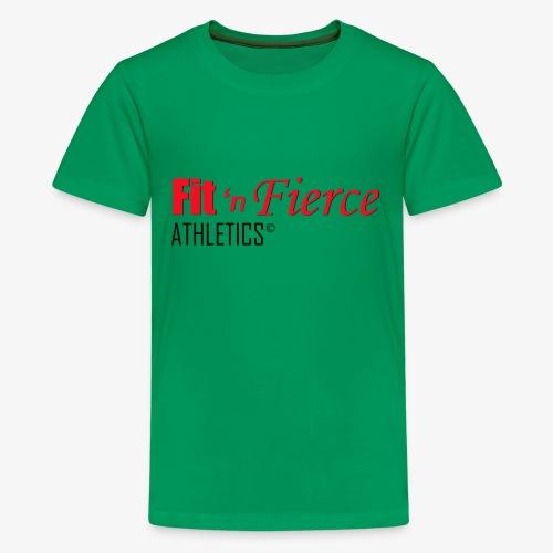 Fit 'n Fierce name only - Kids' Premium T-Shirt