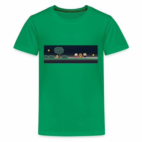 Twitter Header 01 - Kids' Premium T-Shirt