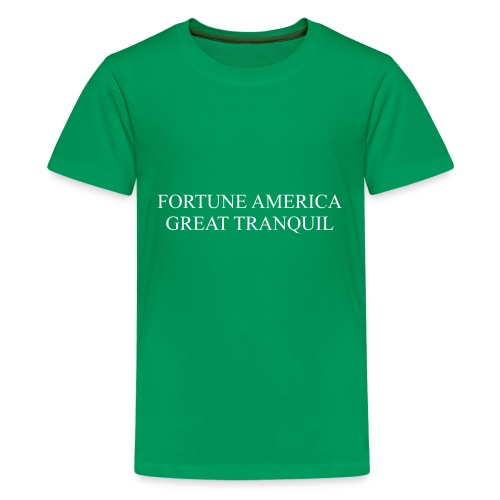 Fortune America Great Tranquil - Kids' Premium T-Shirt