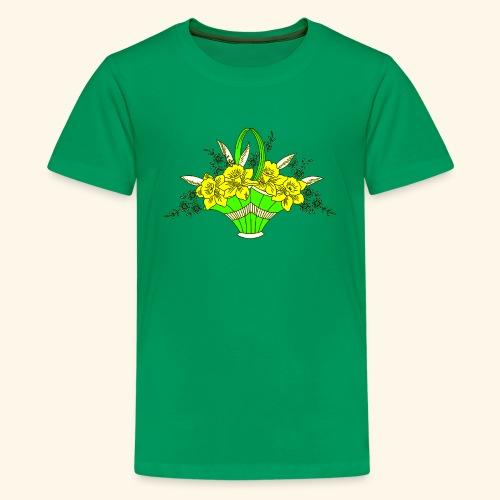 Daffodils Poster - Kids' Premium T-Shirt