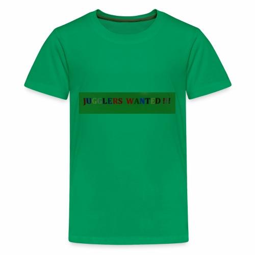 Jugglers Wanted - Kids' Premium T-Shirt