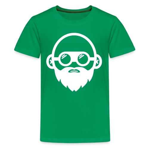 We Build Stuff - Floating Head (white) - Kids' Premium T-Shirt
