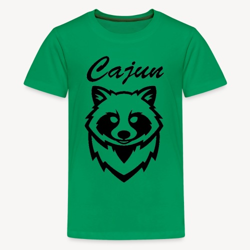 see throw cajun coon icon - Kids' Premium T-Shirt