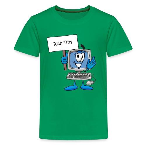 Tech Troy - Kids' Premium T-Shirt