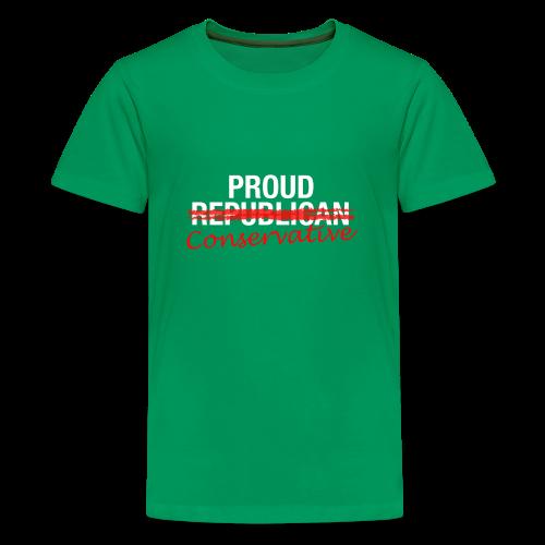 Proud Conservative - Kids' Premium T-Shirt
