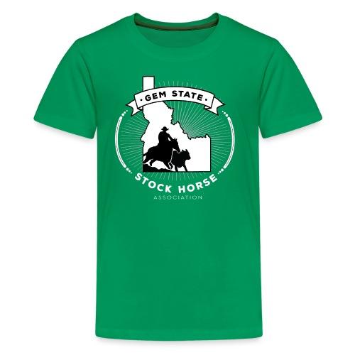 Sunburst Logo - Kids' Premium T-Shirt