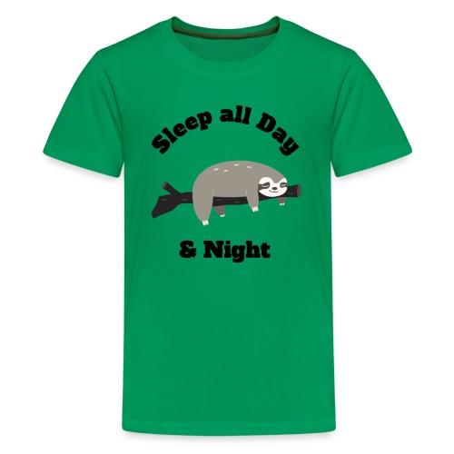 Sloth Funny Design - Kids' Premium T-Shirt