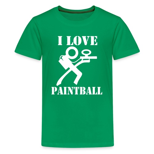 I Love Paintball 2019 - Kids' Premium T-Shirt