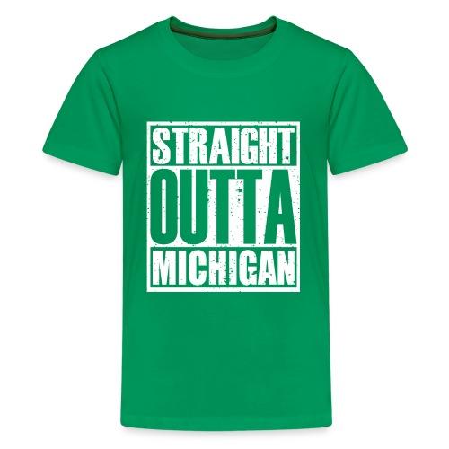 Straight Outta Michigan - Kids' Premium T-Shirt