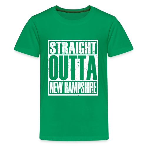 Straight Outta New Hampshire - Kids' Premium T-Shirt