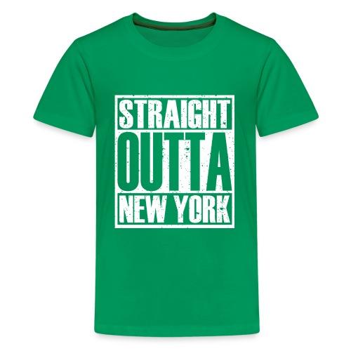 Straight Outta New York - Kids' Premium T-Shirt