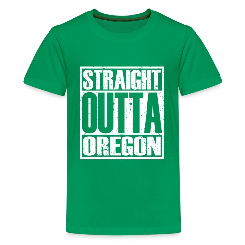 Straight Outta Oregon - Kids' Premium T-Shirt