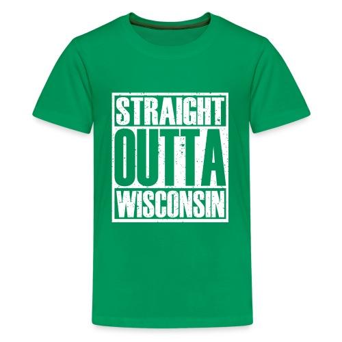 Straight Outta Wisconsin - Kids' Premium T-Shirt
