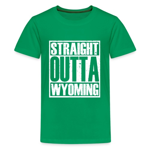 Straight Outta Wyoming - Kids' Premium T-Shirt