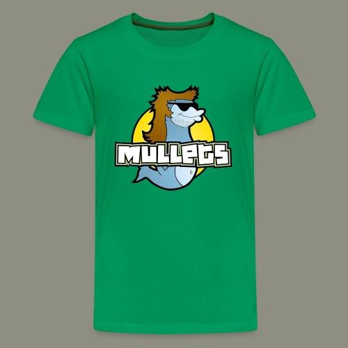 mullets logo - Kids' Premium T-Shirt