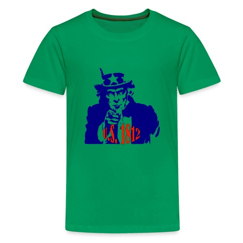uncle-sam-1812 - Kids' Premium T-Shirt