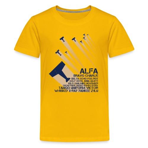International Phonetic Alphabet - Kids' Premium T-Shirt