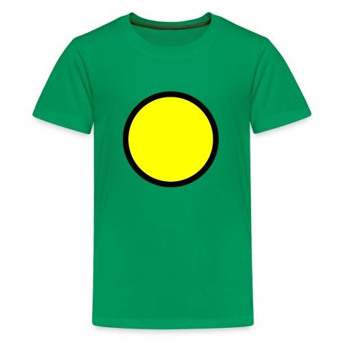 Circle yellow svg - Kids' Premium T-Shirt