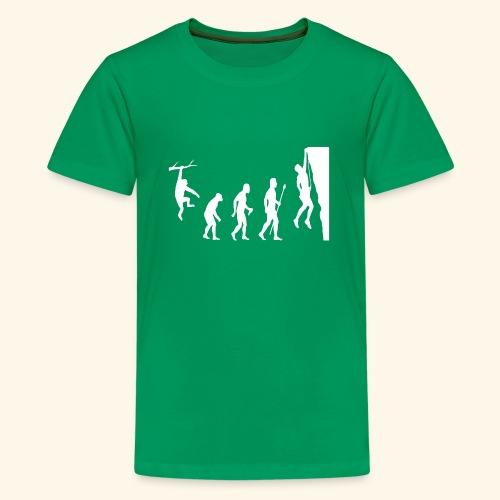 Funny Rock Climbing - Kids' Premium T-Shirt