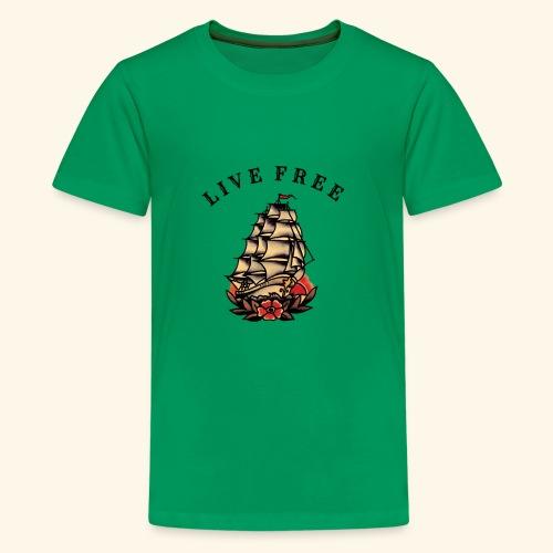 LIVE FREE - Kids' Premium T-Shirt