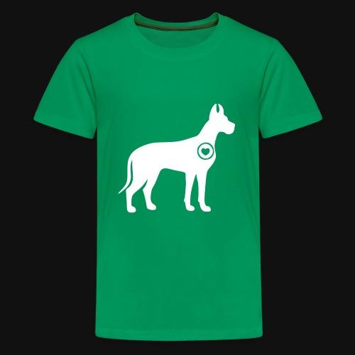Great Dane love - Kids' Premium T-Shirt