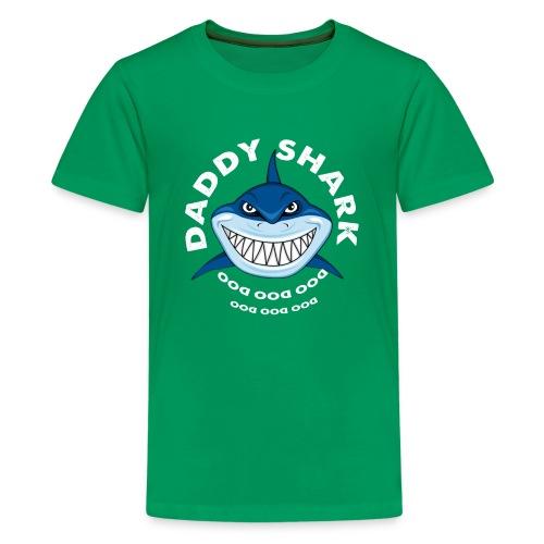 Daddy Shark T-shirt Doo Doo Doo - Father's Day Gif - Kids' Premium T-Shirt