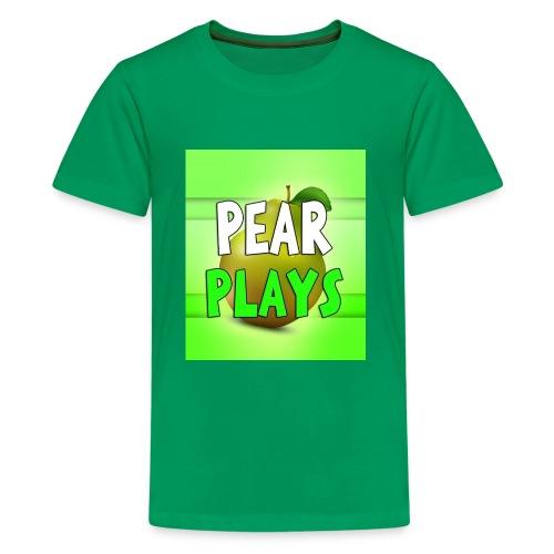 Phone Case Pear Plays Logo - Kids' Premium T-Shirt