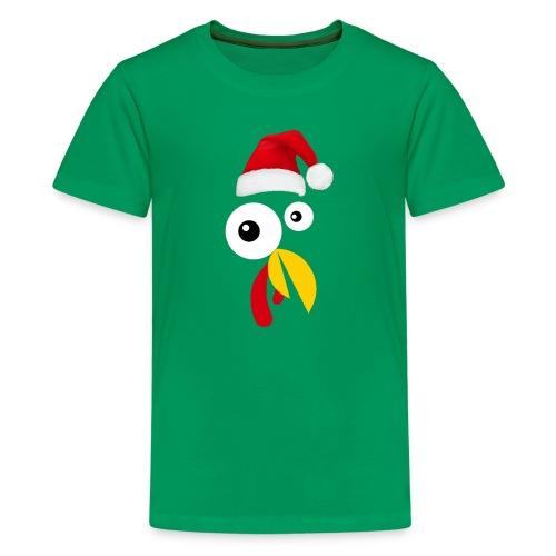 Turkey Face christmas TShirt - Kids' Premium T-Shirt