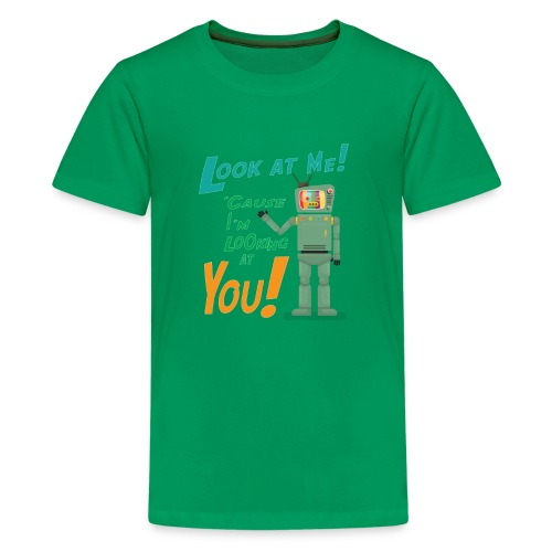 Look at me i'm watching you - Kids' Premium T-Shirt