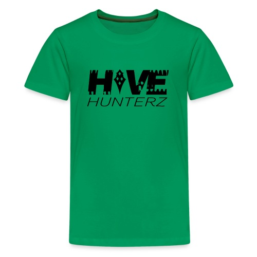 Hive Hunterz Black Logo - Kids' Premium T-Shirt