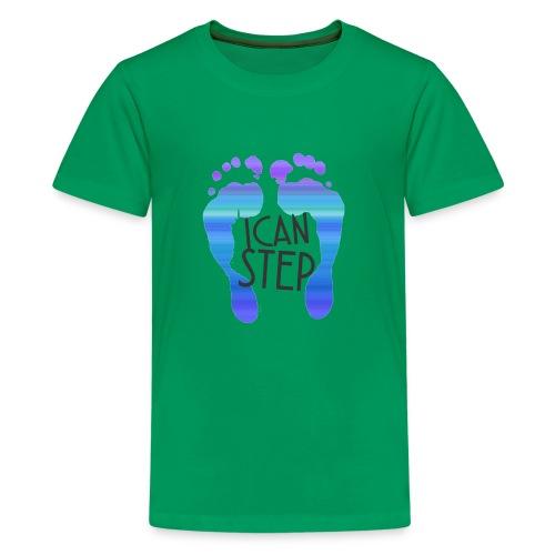 I.C.A.N.S.T.E.P. MOTTO - Kids' Premium T-Shirt