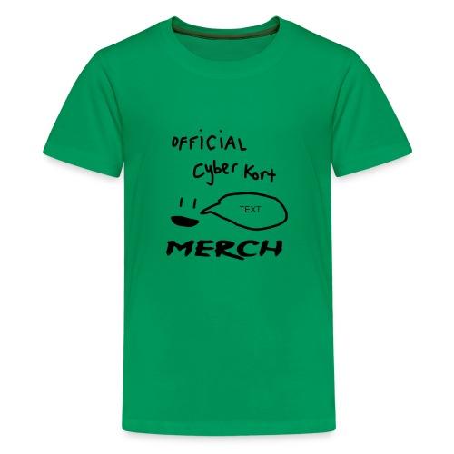 smiley speech design - Kids' Premium T-Shirt