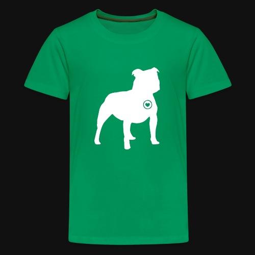 Staffy love - Kids' Premium T-Shirt