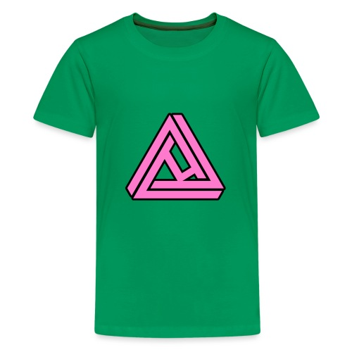 Breast Cancer Awareness Logo - Kids' Premium T-Shirt