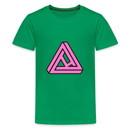 Breast Cancer Awareness Logo - Kids' Premium T-Shirt