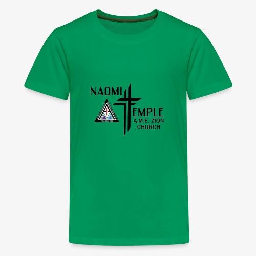 Naomi Temple Color Logo - Kids' Premium T-Shirt
