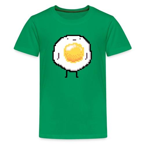 Sunny Side Up Standing Up Egg Funny - Kids' Premium T-Shirt