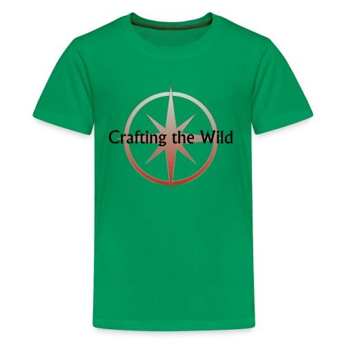 Crafting The Wild - Kids' Premium T-Shirt