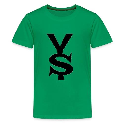 Black Yong Soul Logo - Kids' Premium T-Shirt