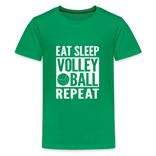 Eat Sleep Volleyball Repeat - Kids' Premium T-Shirt