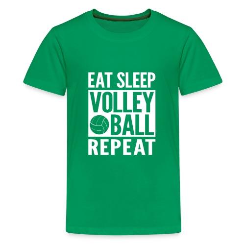 Eat Sleep Volleyball Repeat - Kids' Premium T-Shirt